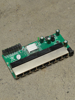 8 Port Gigabit switch module - PCBA