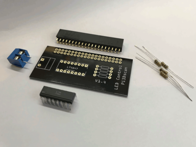 LED Control board (dimming) - components